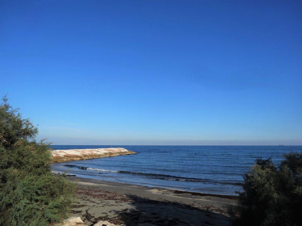 Veřejná pláž na Lidu