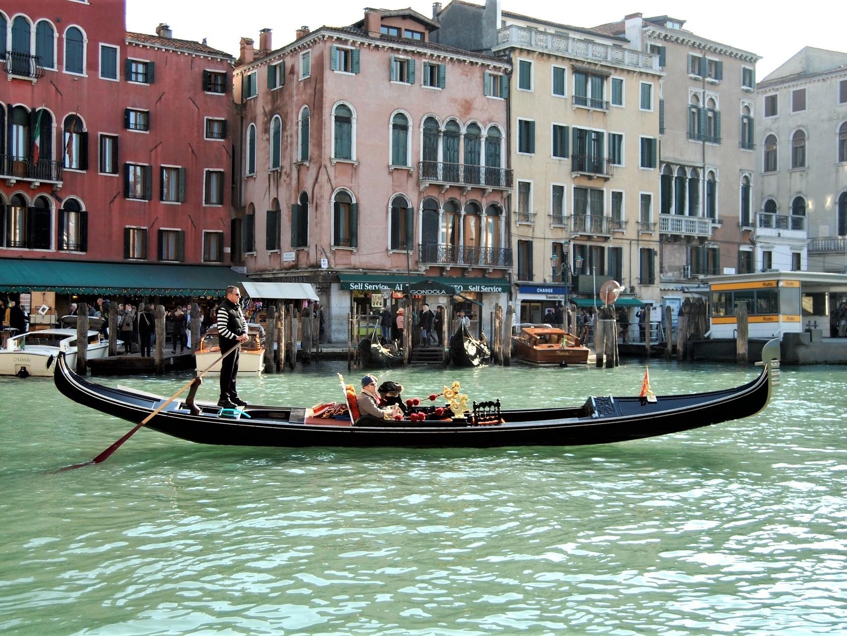 Gondola Benátky