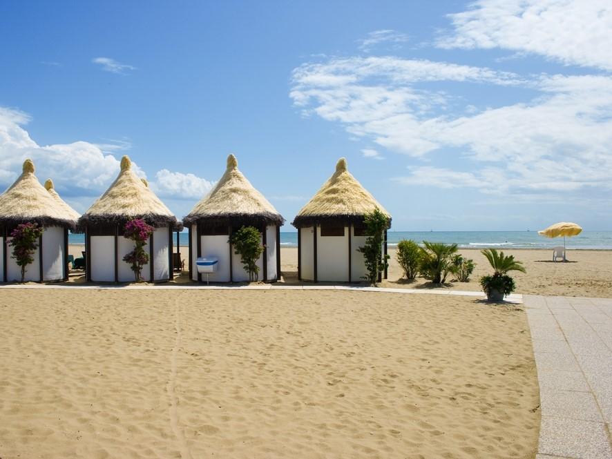 Soukromá pláž na Lidu