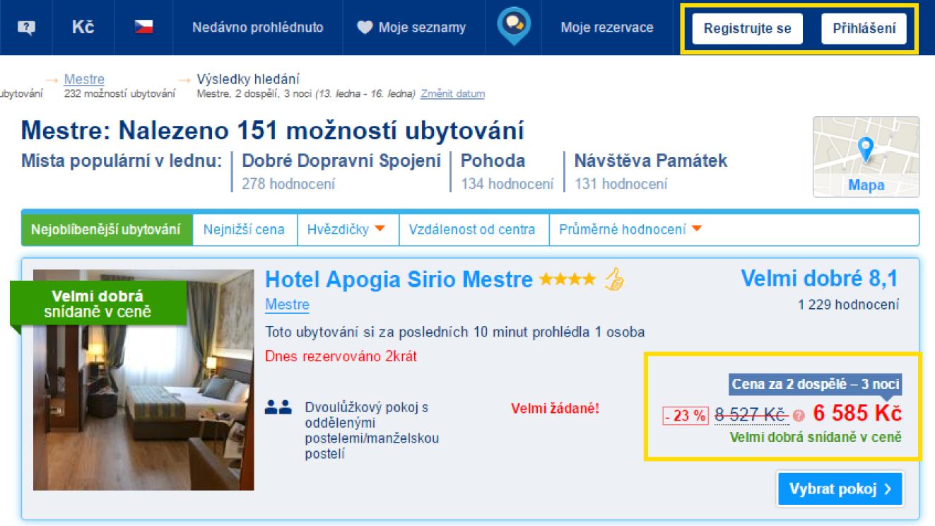 3 noci vhotelu Apogia Sirio Mestre pro nepřihlášeného – 6 585 Kč