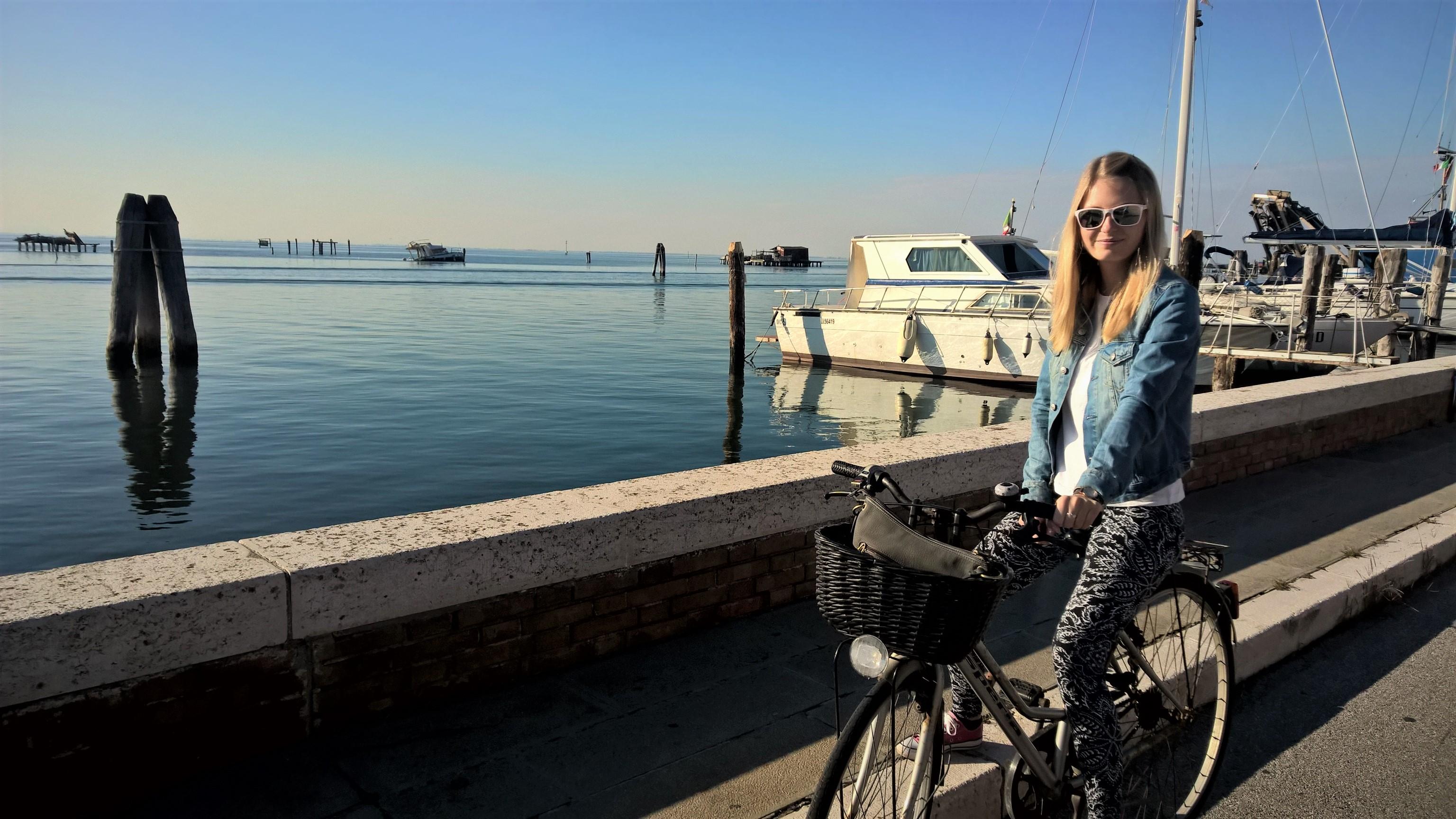Na Pellestrině na kole