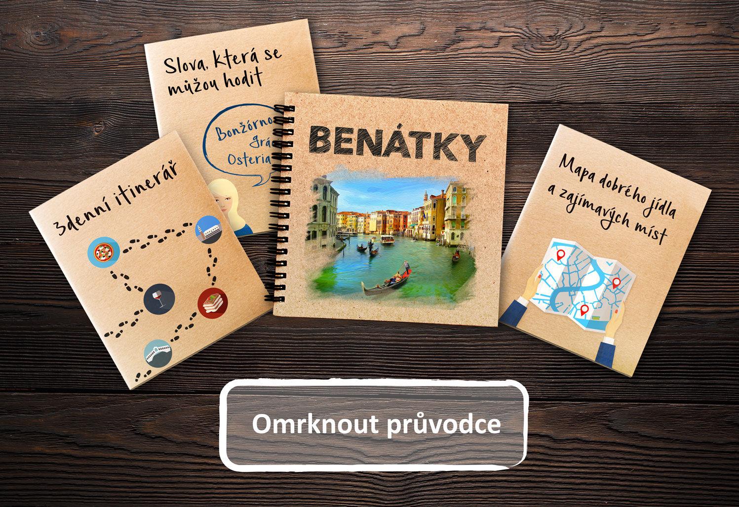 Benátky památky, zajímavá místa v Benátkách, doprava v Benátkách, koupání v Benátkách, autem do Benátek